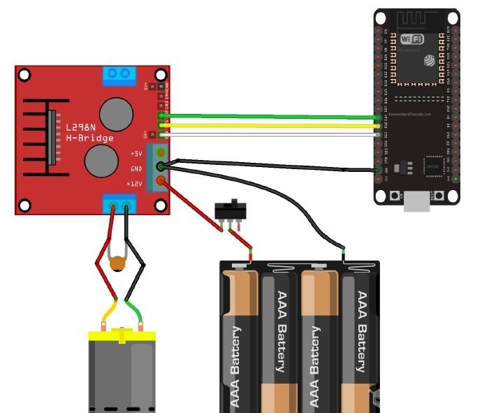 ESP32&MicroPython 手机遥控小车